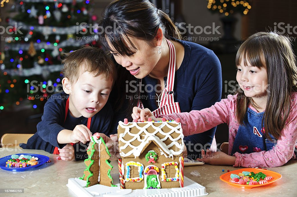 Gingerbread Tradition royalty-free stock photo