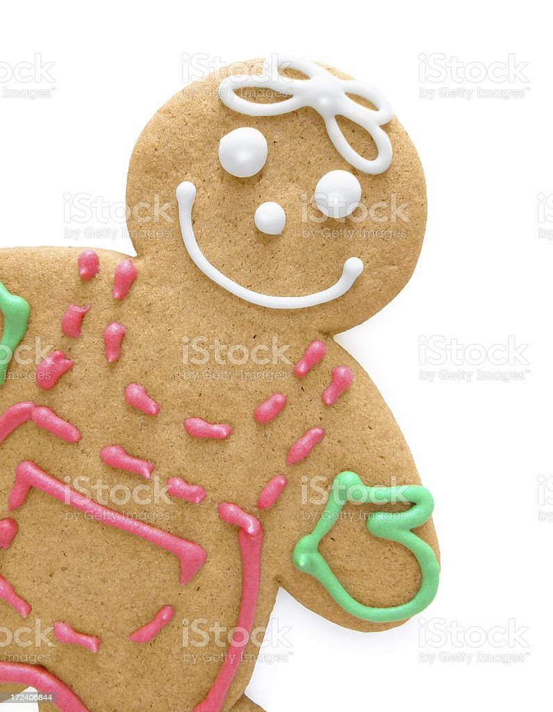 Gingerbread Woman royalty-free stock photo