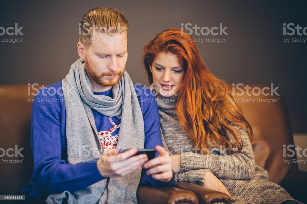 Gingers dating stock photo