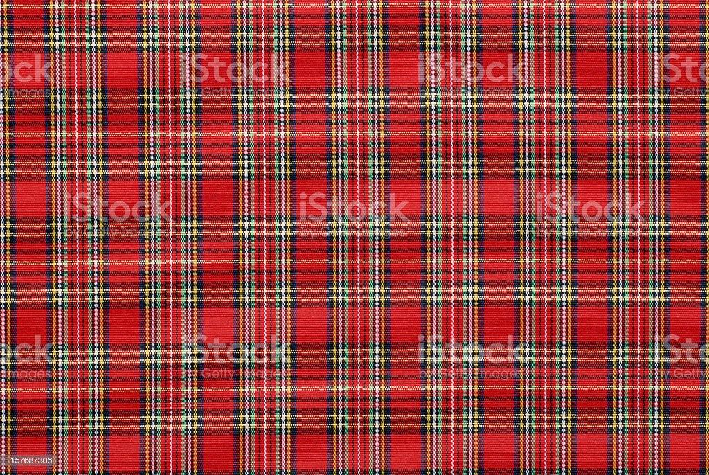 gingham pattern fabric royalty-free stock photo