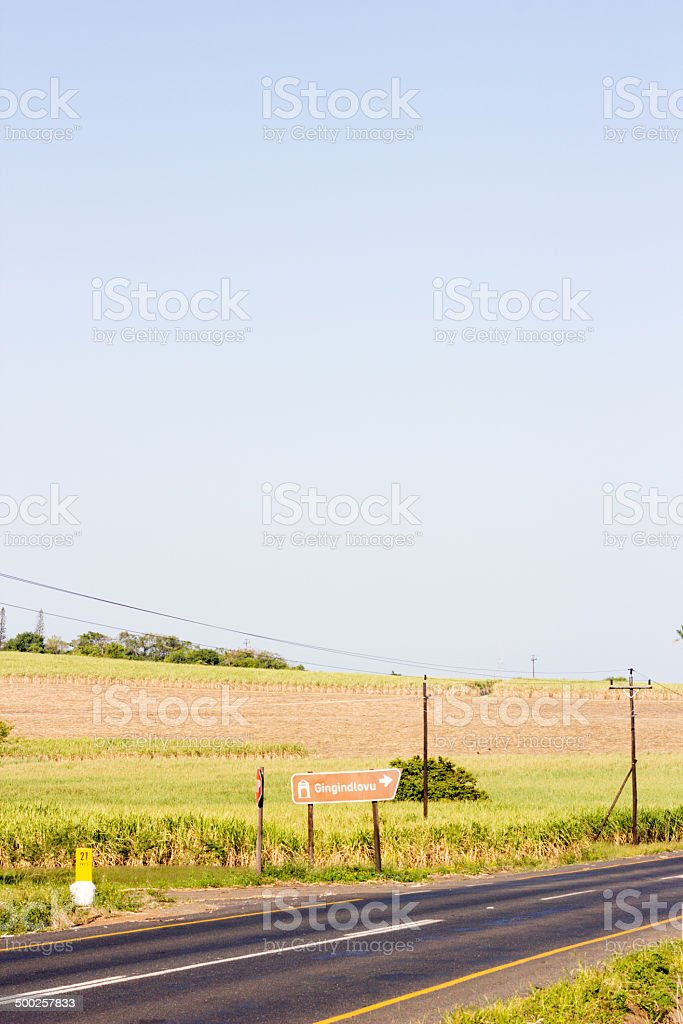 Gingindlovu in KwaZulu-Natal, South Africa royalty-free stock photo