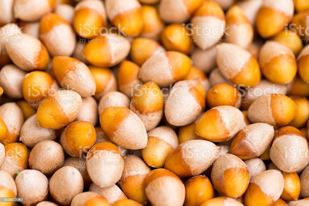 Gingko Nuts stock photo