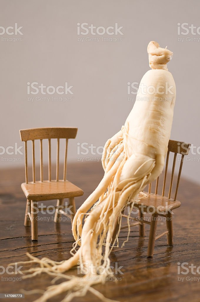 Ginseng Root stock photo