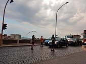 Giocolieri al semaforo