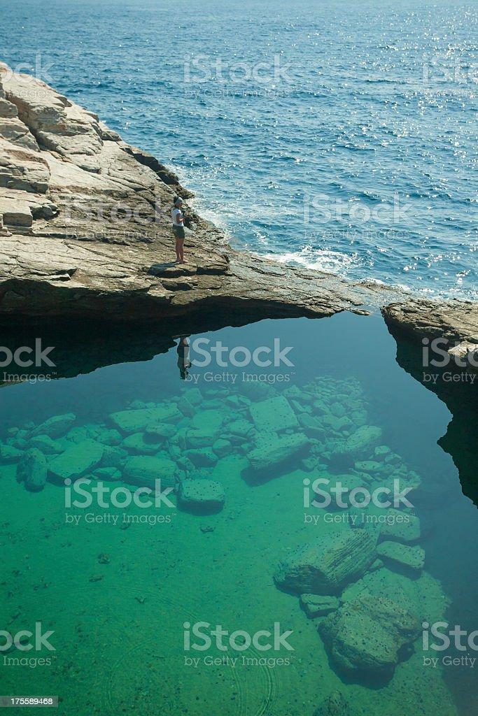 Giola Lagoon stock photo