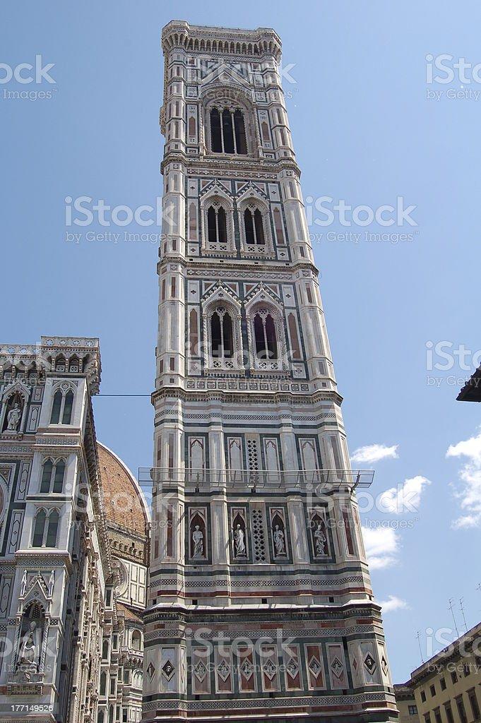 Campanile di Giotto stock photo