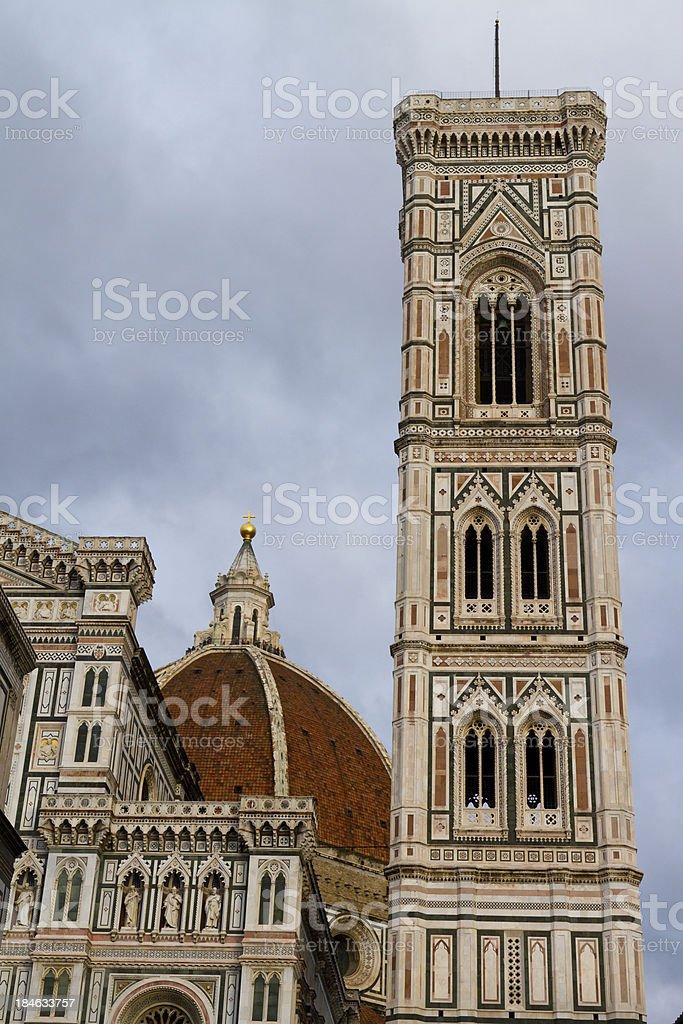Giotto's Campanile stock photo