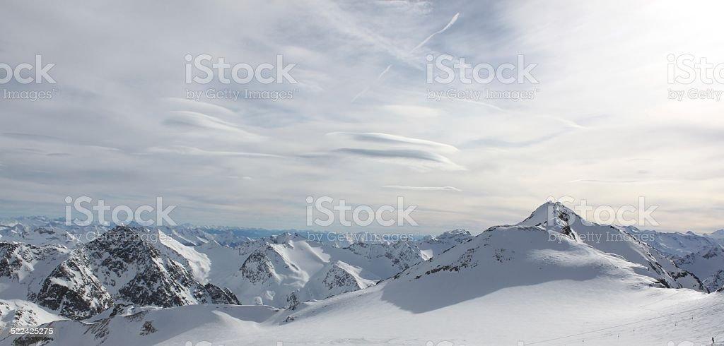 Gipfel der Welt stock photo
