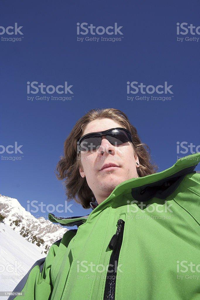 Gipfelstürmer stock photo