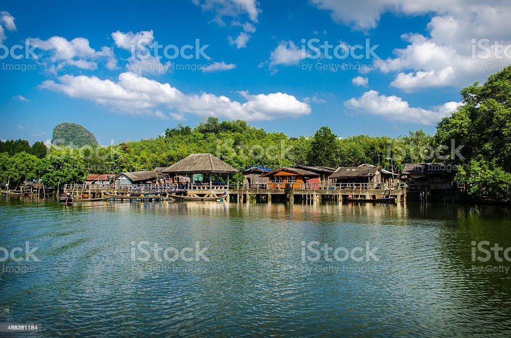 Gipsy Village stock photo