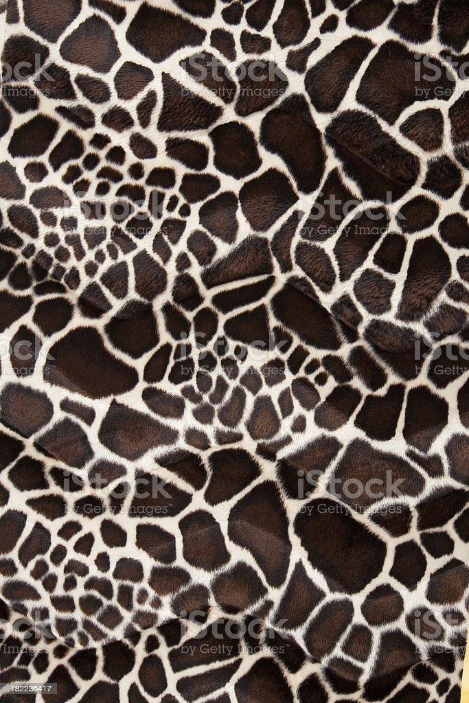 Giraffe Animal Print stock photo