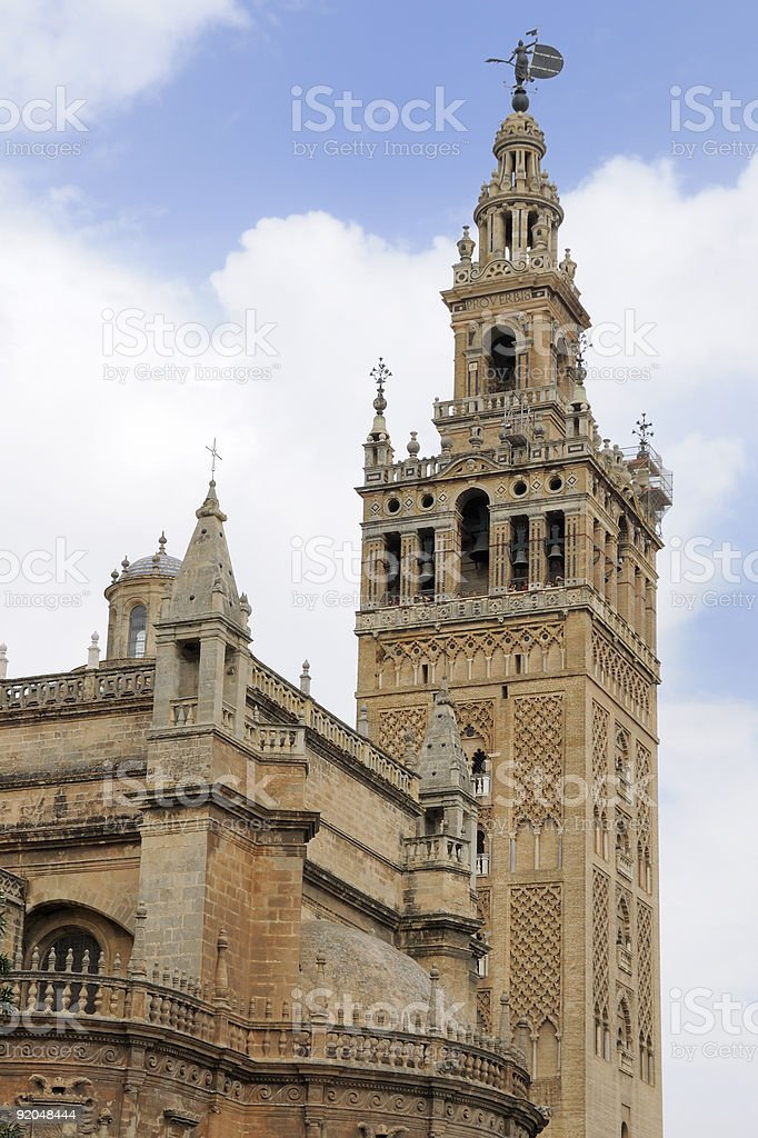 Giralda in Sevilla royalty-free stock photo