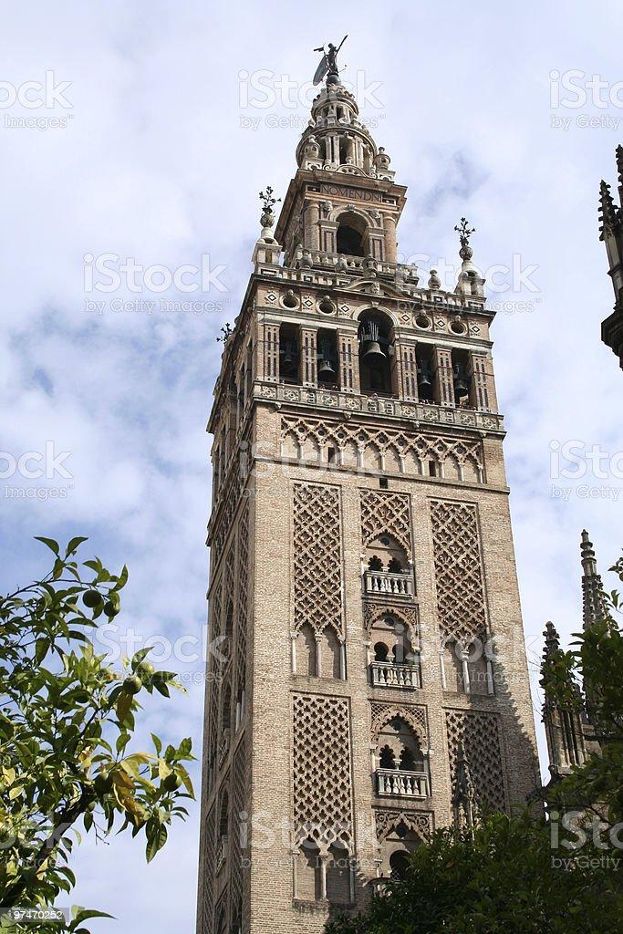 Giralda of Seville. royalty-free stock photo