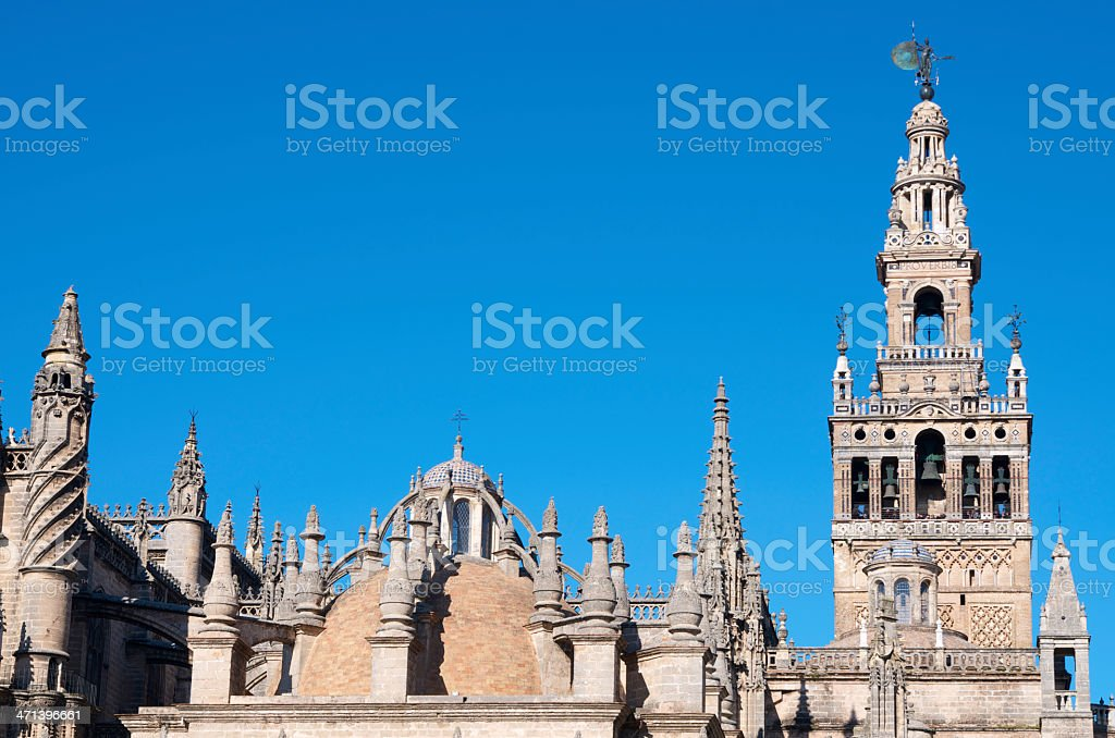 Giralda royalty-free stock photo