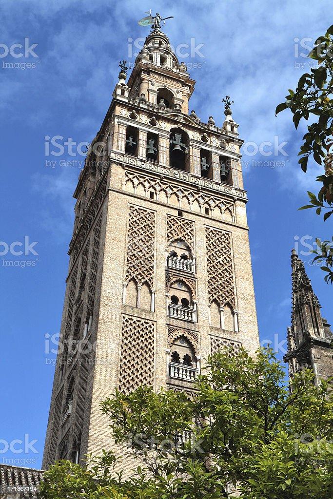 Giralda, Seville, Spain royalty-free stock photo
