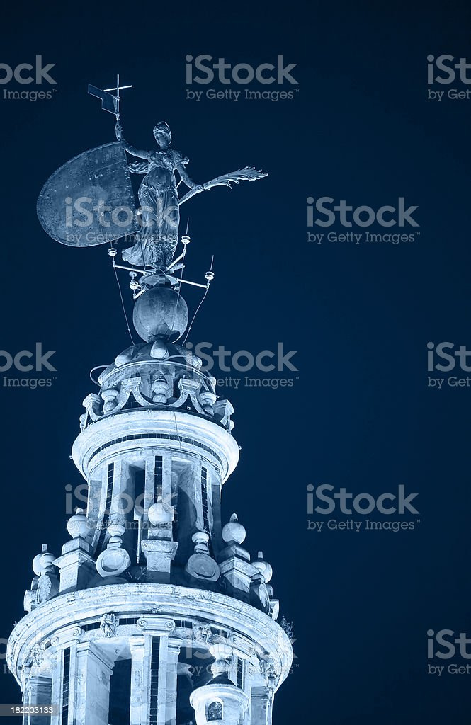 Giralda tower in Sevilla, Spain royalty-free stock photo