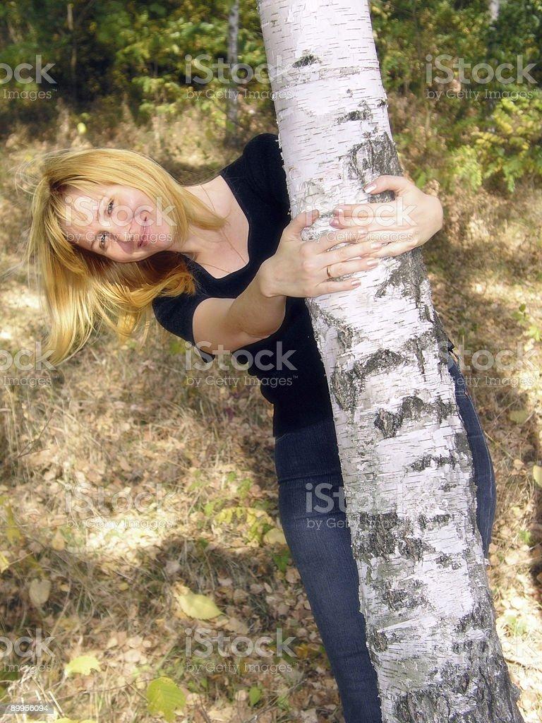 Girl 1 royalty-free stock photo
