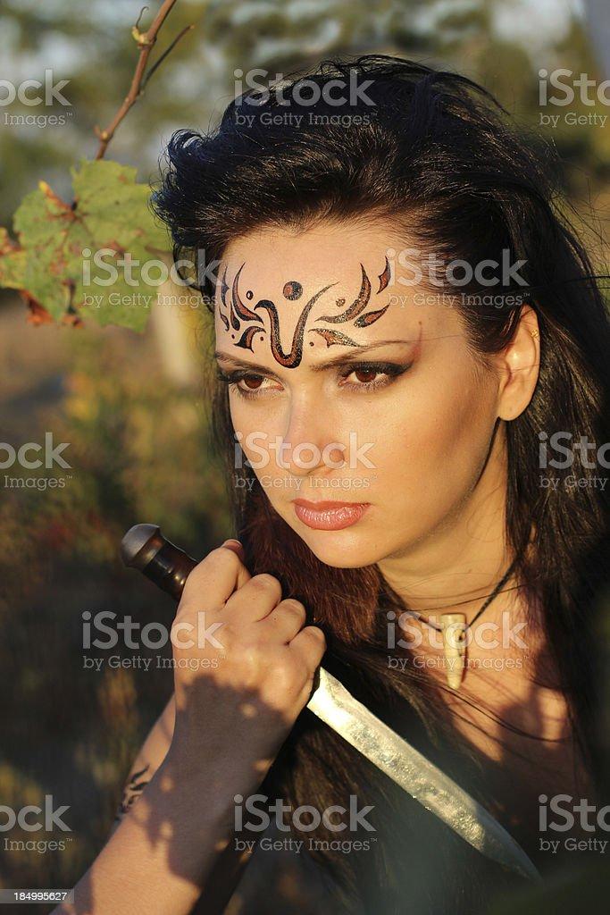 girl -  Amazon royalty-free stock photo