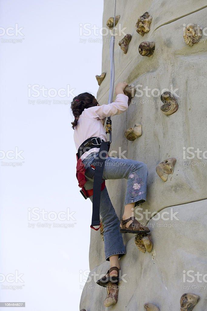 Girl Ascending stock photo