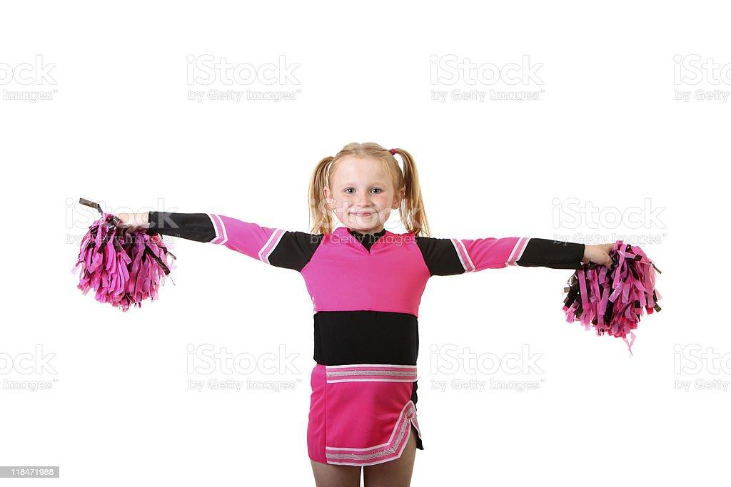 girl cheerleader royalty-free stock photo