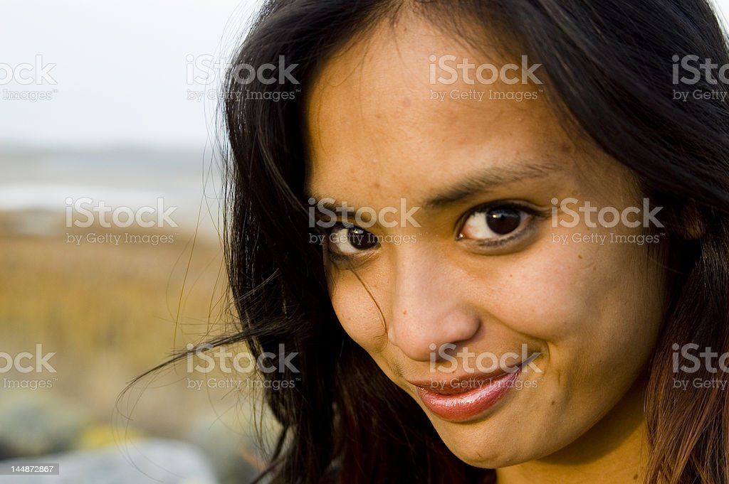 girl close up royalty-free stock photo