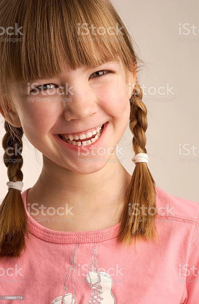 Girl Culture royalty-free stock photo