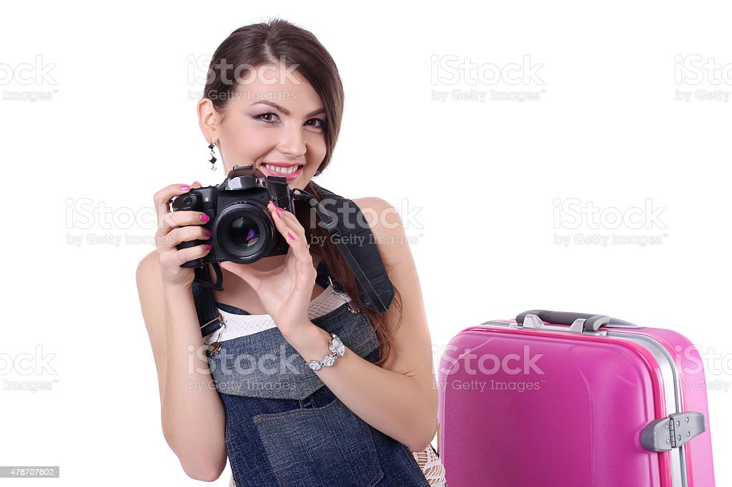 Girl fotogray concept royalty-free stock photo