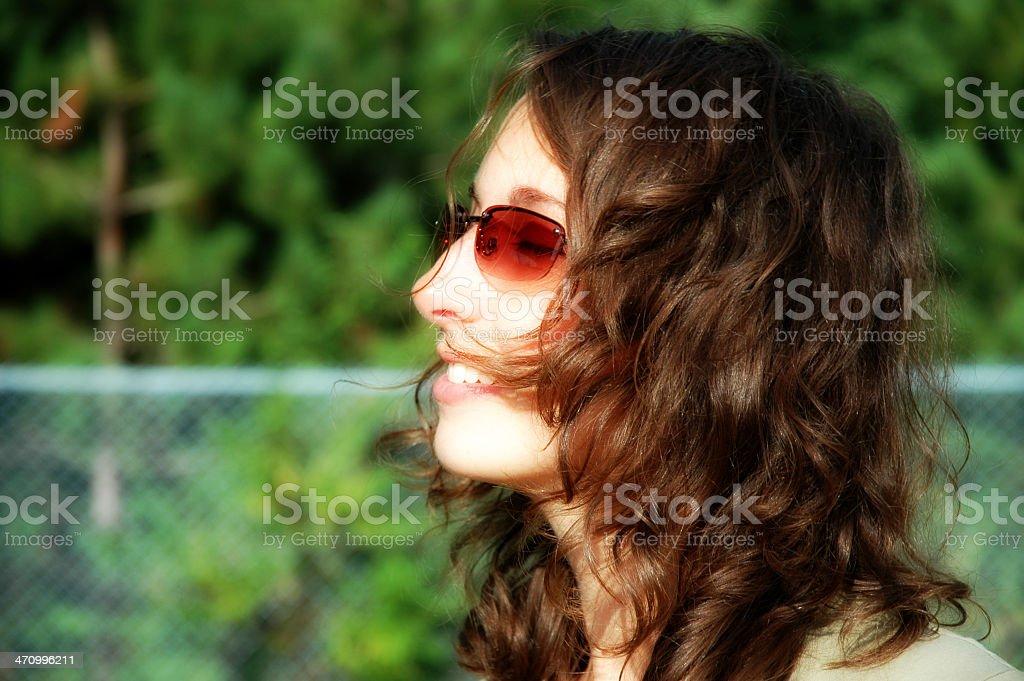 Girl Glamour royalty-free stock photo