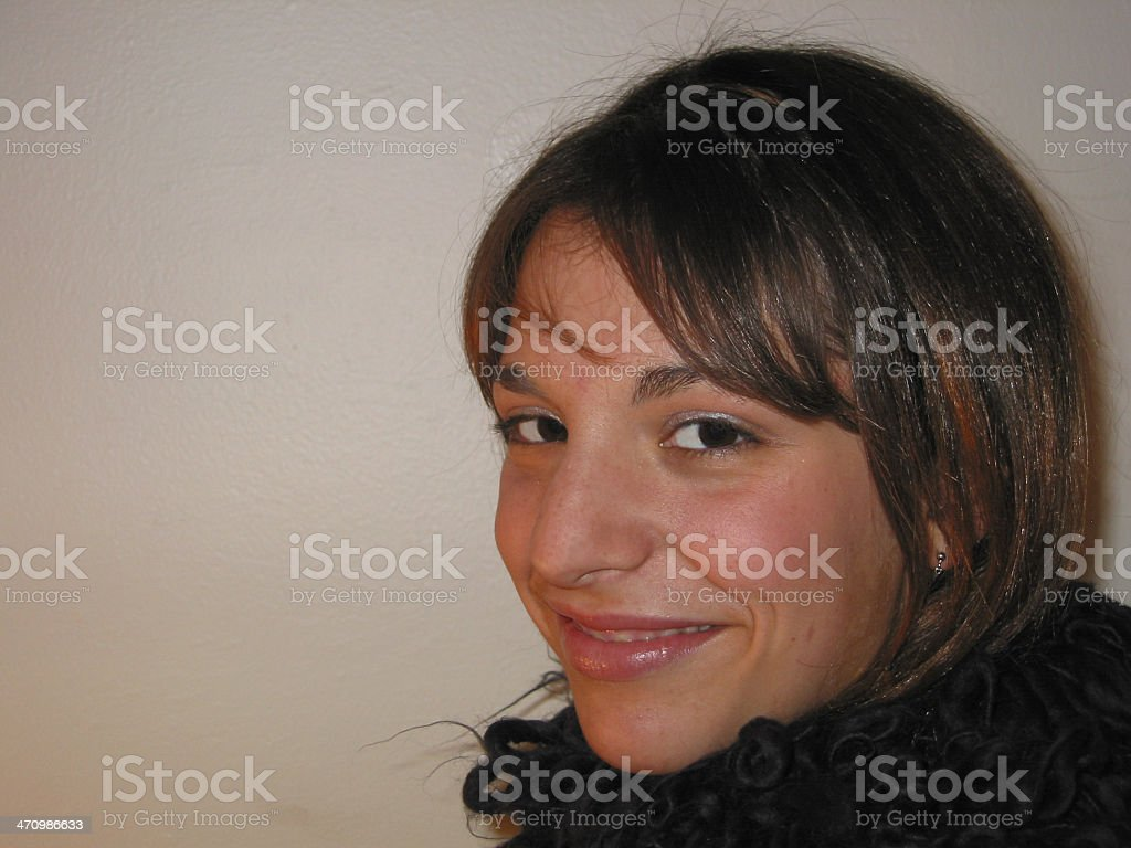 Girl - Happy 01 royalty-free stock photo