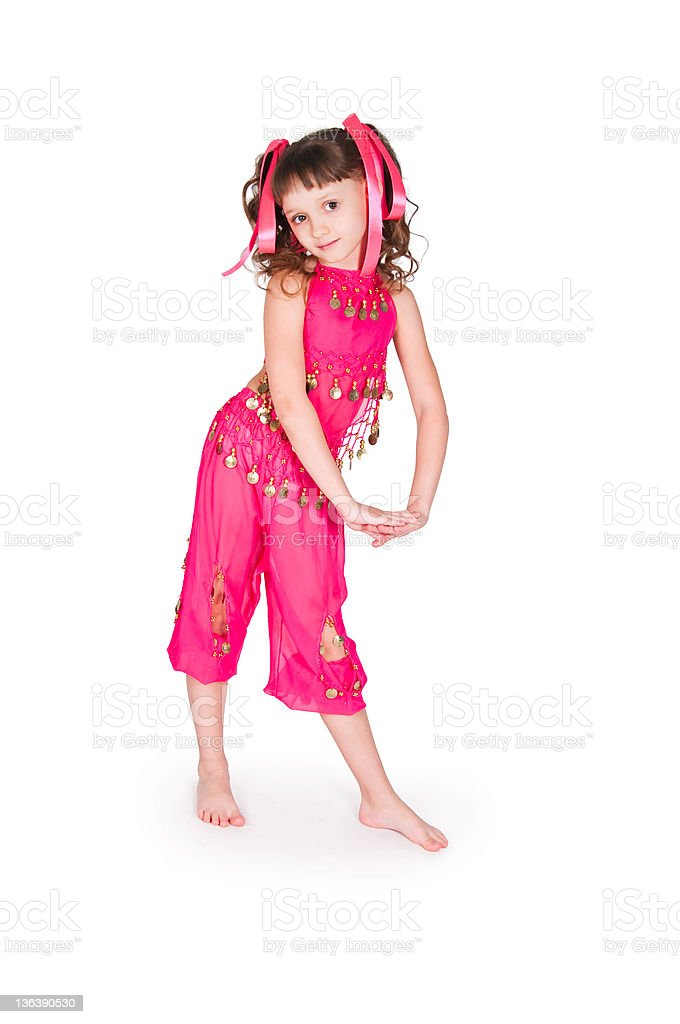 girl in east suit stock photo