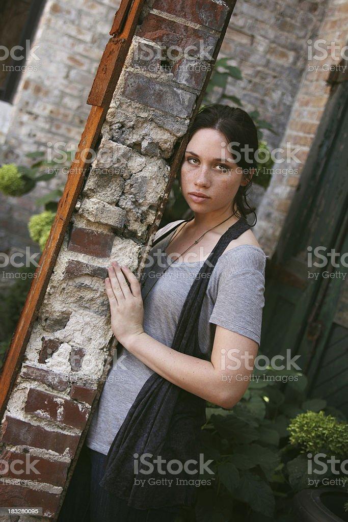 Girl Next Door royalty-free stock photo