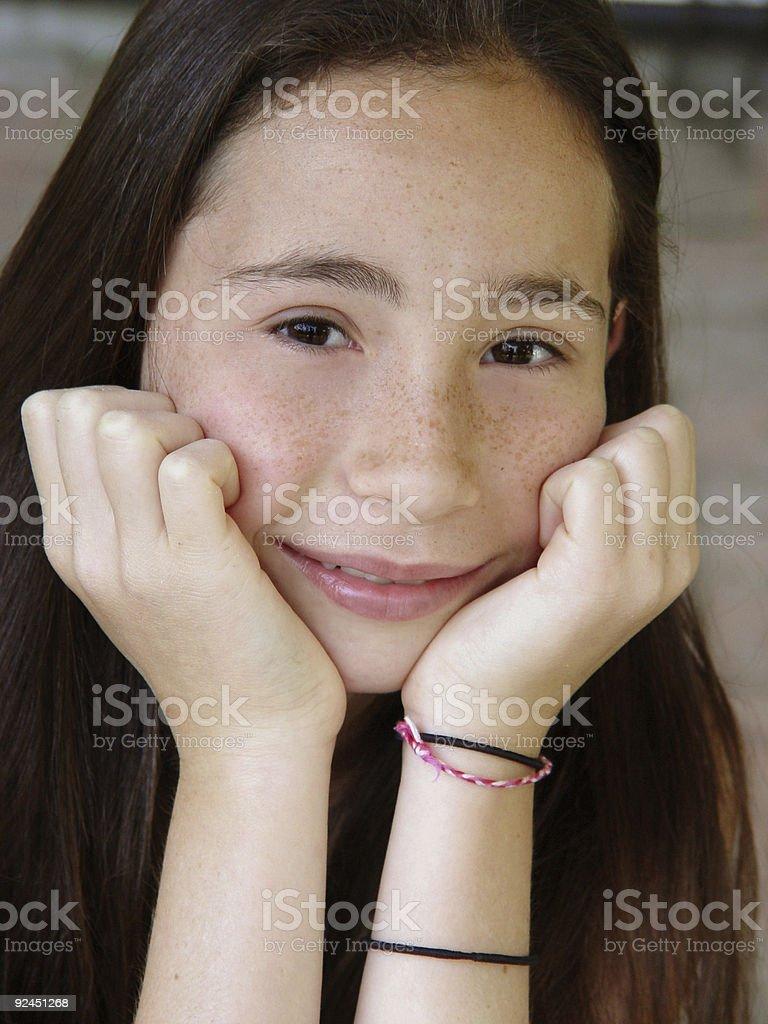 Girl next door (5) royalty-free stock photo