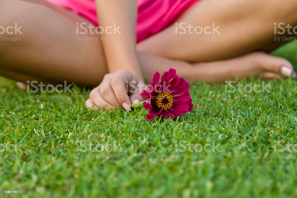 Girl of Nature royalty-free stock photo