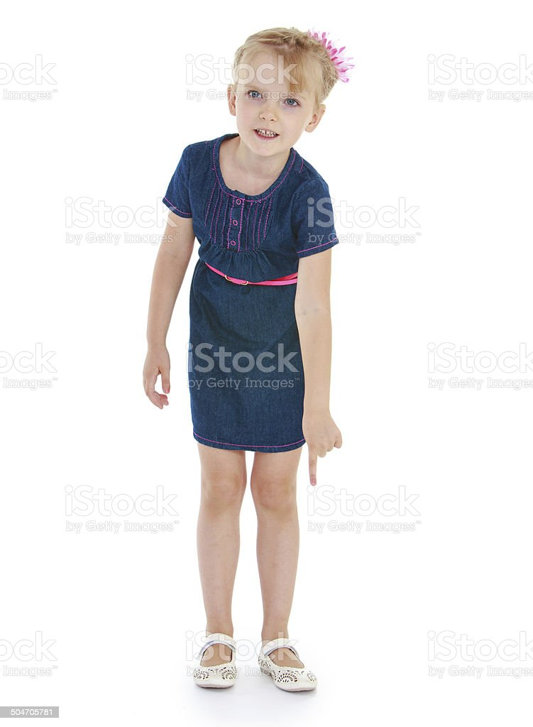 La jeune fille sur fond blanc photo libre de droits