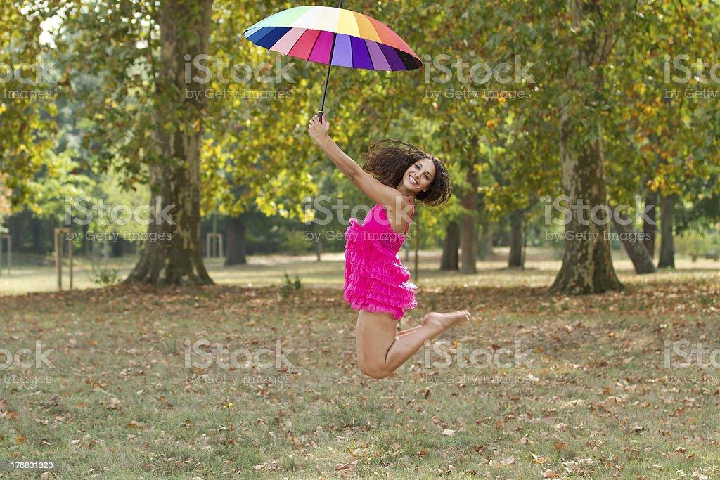 girl outdoor fun royalty-free stock photo