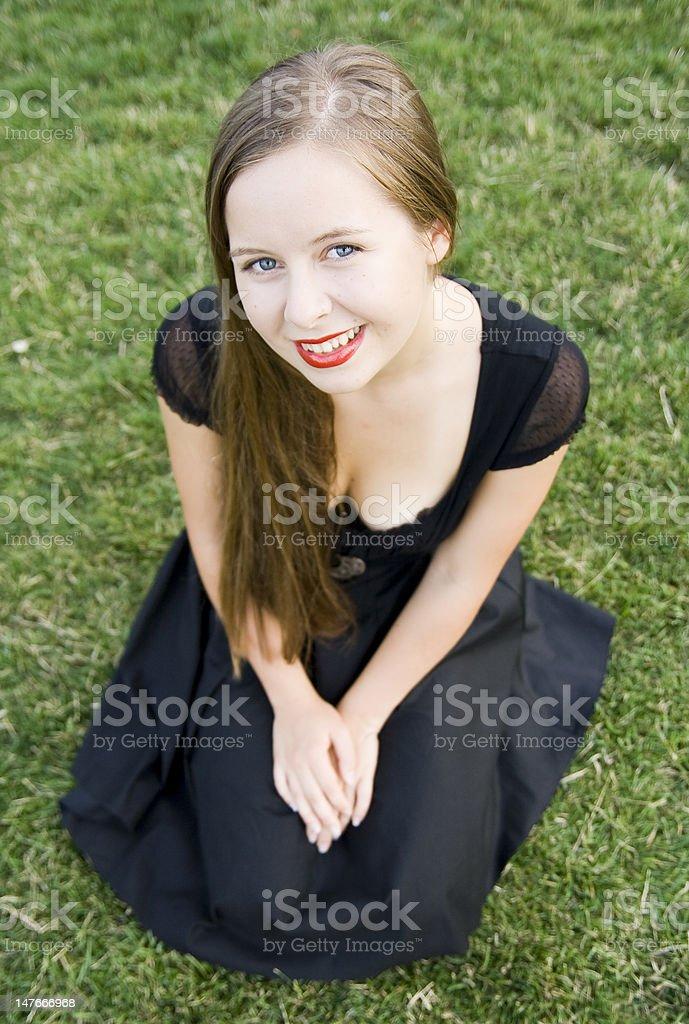 Mädchen Lizenzfreies stock-foto