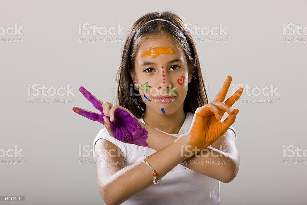 Girl royalty-free stock photo