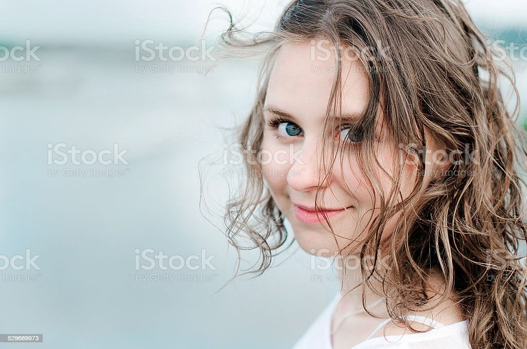 Girl royalty-free stock photo