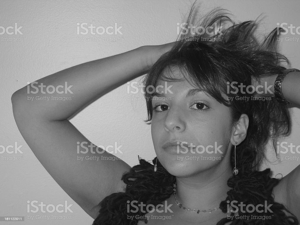 Girl - Pose 01 royalty-free stock photo