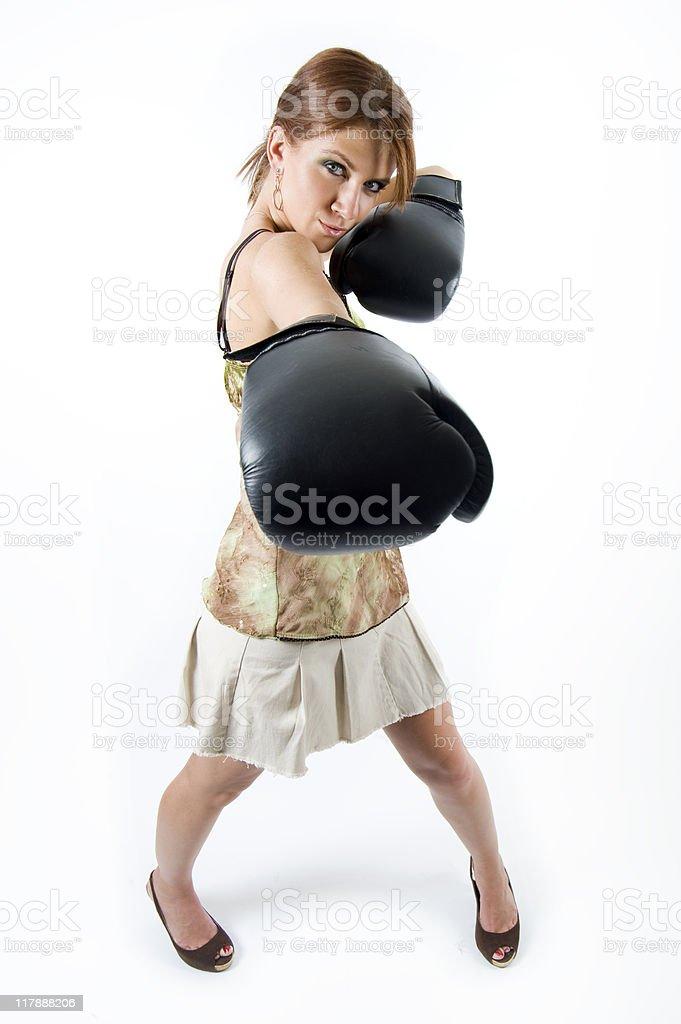 Girl Power! royalty-free stock photo