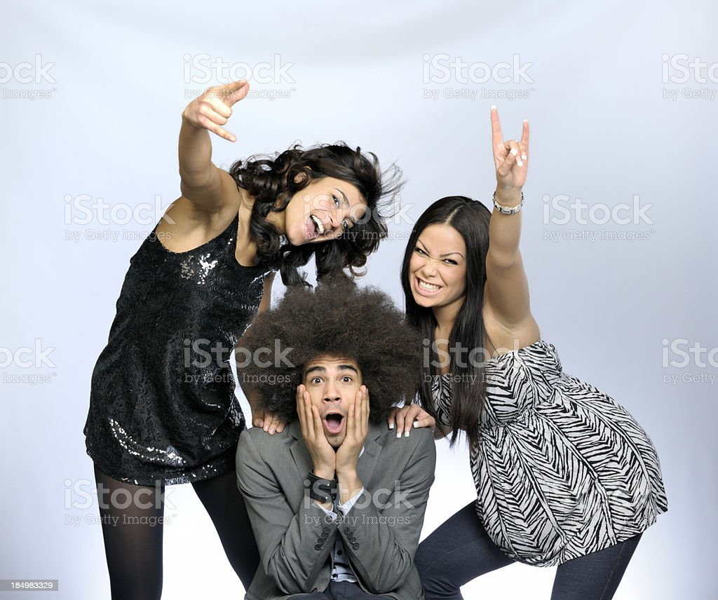 girl power stock photo
