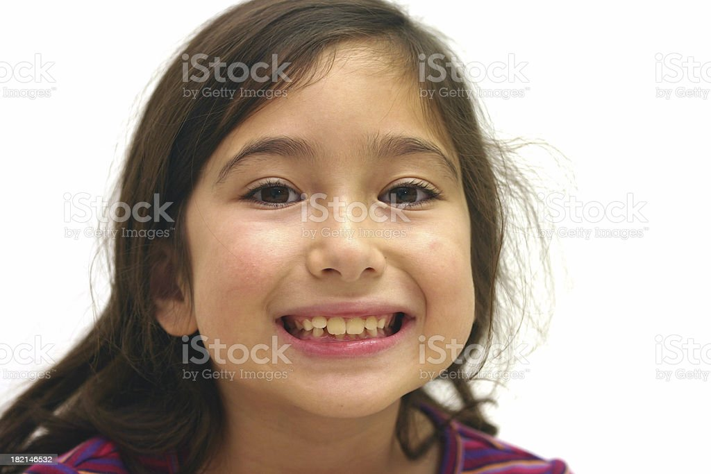 Girl Smile royalty-free stock photo