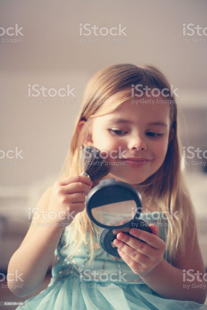 Girl stuff. stock photo