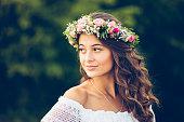 Girl summer portrait