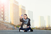 Girl Taking Selfie