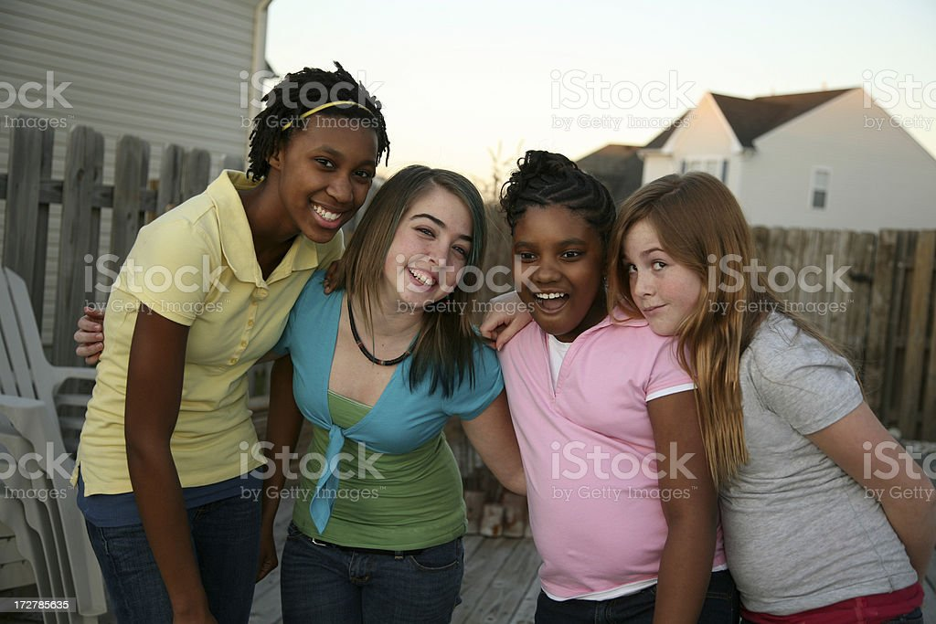 Girl time royalty-free stock photo