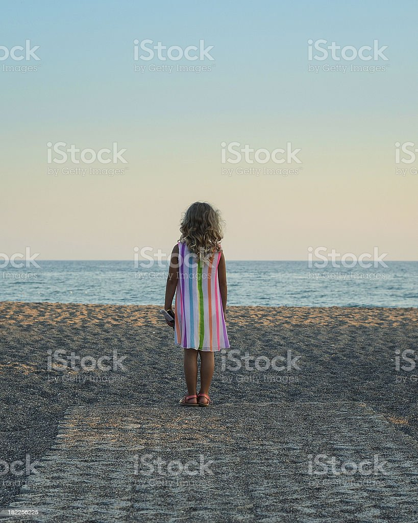 girl waiting for.... stock photo