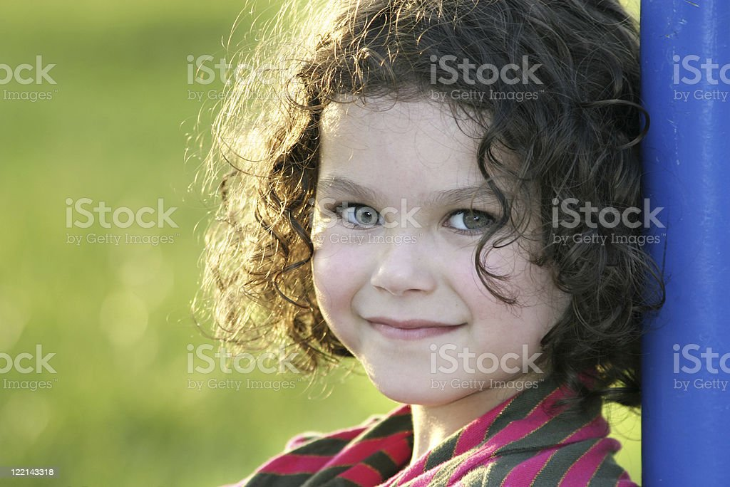 Girl With A Sweet Smile royalty-free stock photo