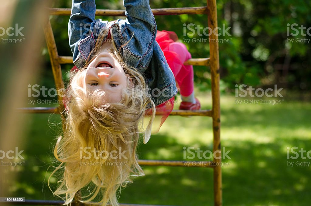 girl with long hair stock photo