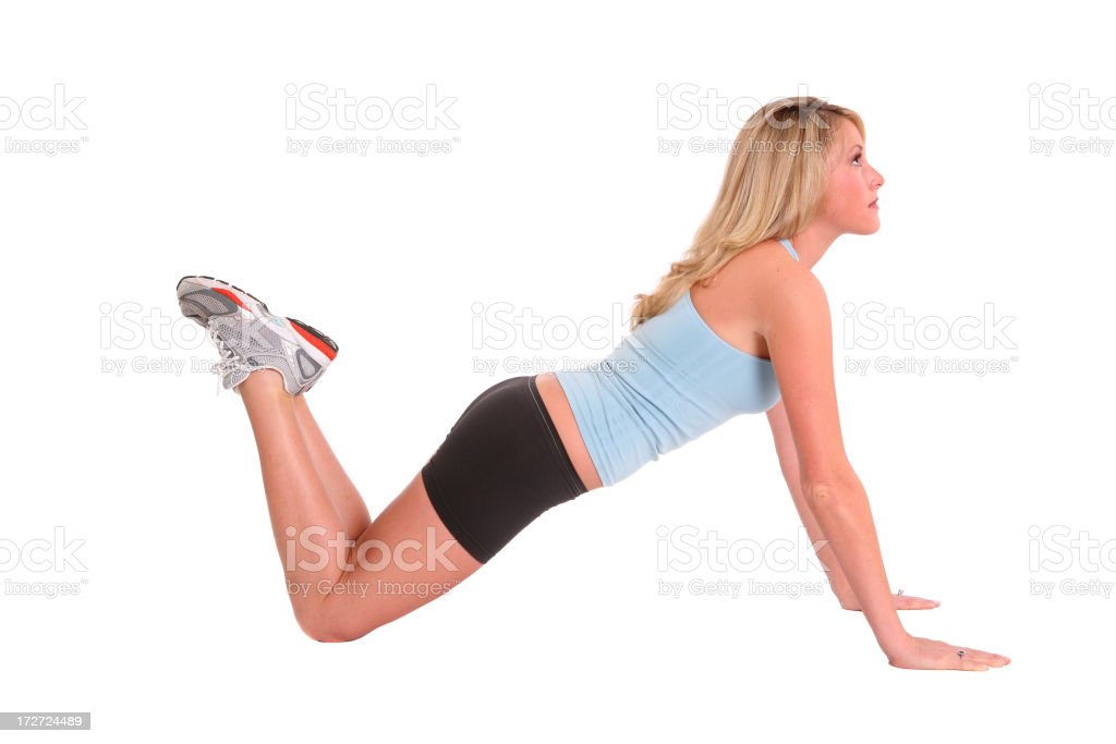 Girlie Push Up royalty-free stock photo
